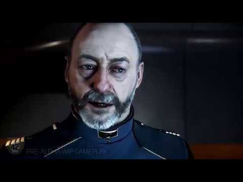 Spider Mining Drone in Squadron 42 Demo