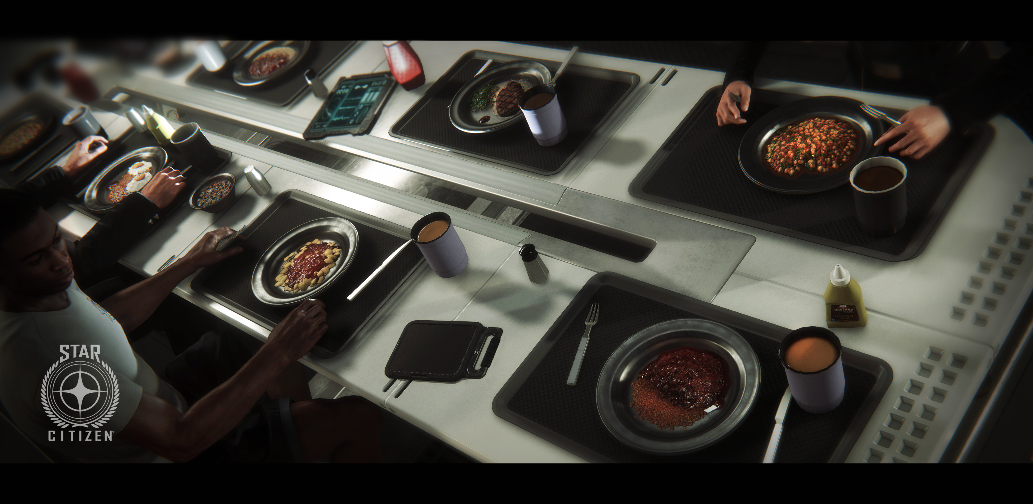 Eating in Star Citizen