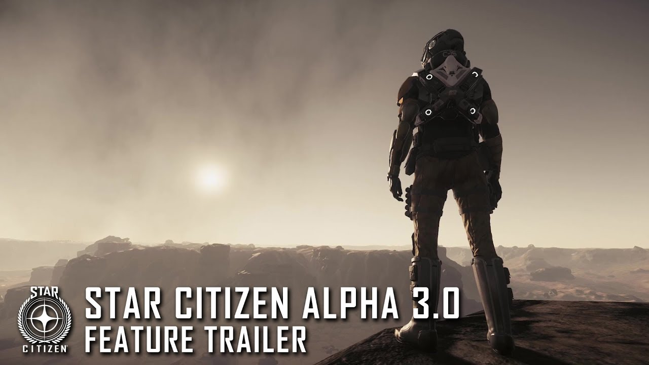 New Star Citizen 3.0 Promo Video