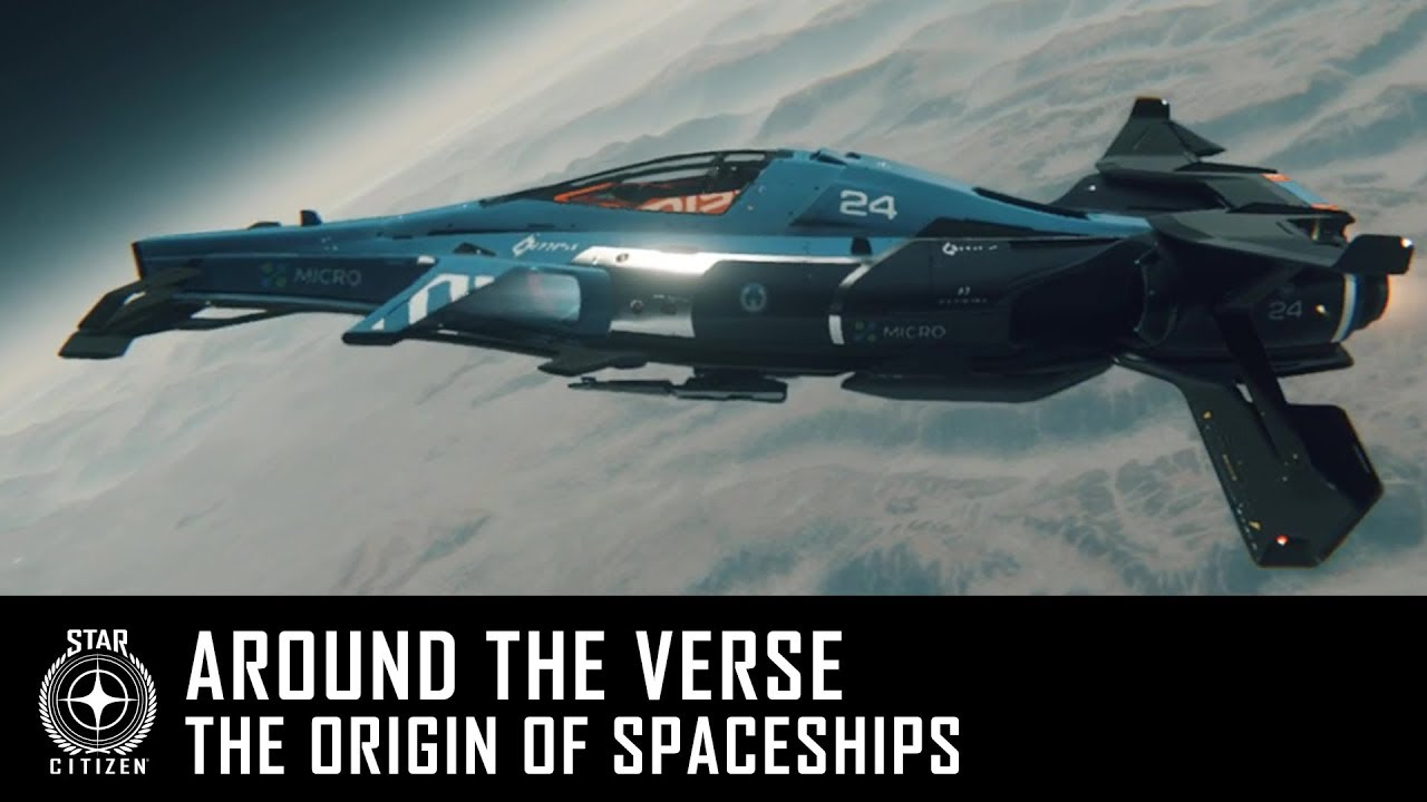Around the Verse – The Origin of Spaceships